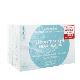 GRANIONS DECONTRACTANT MUSCULAIRE LOT DE 2