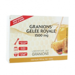 GRANIONS GELEE ROYALE 15 STICKS
