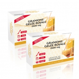 GRANIONS GELEE ROYALE 2X15 STICKS