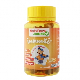 GUMS IMMUNITE 60 OURSONS JUNIOR NAT&FORM