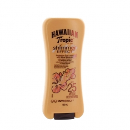 HAWAIIAN TROPIC LOTION SHIMMER EFFECT SPF25 180ML