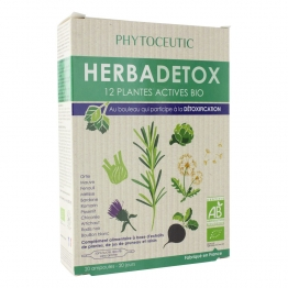 HERBADETOX BIO 20 AMPOULES PHYTOCEUTIC