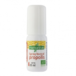 HERBAVIVA SPRAY BUCCAL PROPOLIS BIO 20ML