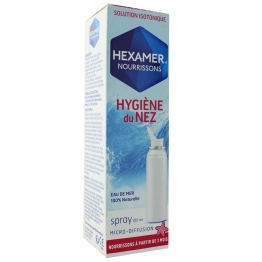HEXAMER ISOTONIQUE NOURRISSONS HYGIENE DU NEZ 100ML