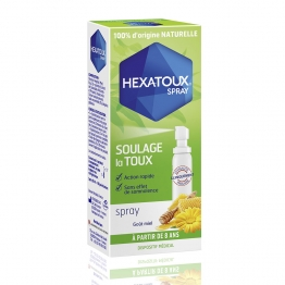 HEXATOUX SPRAY GOUT MIEL 30ML