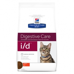 HILLS PRESCRIPTION DIET DIGESTIVE CARE I/D CHAT CROQUETTES AU POULET 5KG