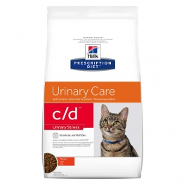 HILLS PRESCRIPTION DIET URINARY CARE C/D URINARY STRESS CHAT CROQUETTES AU POULET 1.5KG