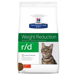 HILLS PRESCRIPTION DIET WEIGHT REDUCTION R/D CHAT CROQUETTES POULET 5KG