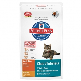 HILLS SCIENCE PLAN CHAT D'INTERIEUR ADULTE CROQUETTES POULET 1.5KG