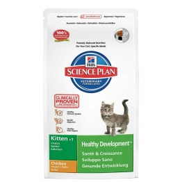 HILLS SCIENCE PLAN HEALTHY DEVELOPMENT KITTEN CHATON MOINS D'UN AN CROQUETTES POULET 2KG