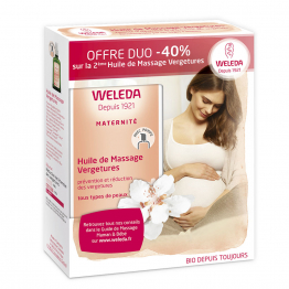 Huile De Massage Vergetures 2x100ml Maternite Weleda