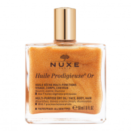 Huile Or 50ml Huile Prodigieuse Visage Corps Et Cheveux Nuxe
