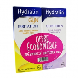 HYDRALIN QUOTIDIEN 200ML + HYDRALIN GYN IRRITATION 200ML
