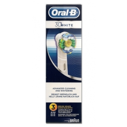 ORAL B 3D WHITE BROSSETTES PACK DE 3