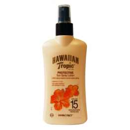 HAWAIIAN TROPIC LOTION SPF 15 SPRAY 200ML