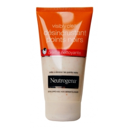 NEUTROGENA VISIBLY CLEAR DESINCRUSTANT POINTS NOIRS CREME NETTOYANTE 150ML