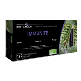 IMMUNITE 20  AMPOULES DIET HORIZON