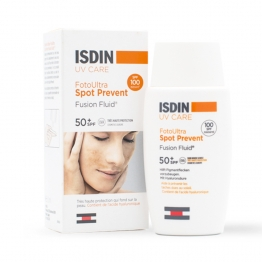 ISDIN UV CARE FOTO ULTRA SPOT PREVENT FUSION FLUID TRES HAUTE PROTECTION SPF50+ 50ML