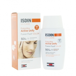 ISDIN FOTO ULTRA ACTIVE UNIFY FUSION FLUID COLOR SPF50+ 50ML