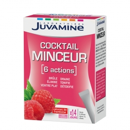 JUVAMINE 6 ACTIONS MINCEUR 14 STICKS