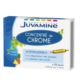 JUVAMINE CONCENTRE DE CHROME 20 AMPOULES