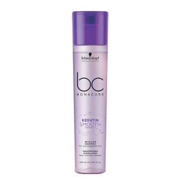 KERATIN SMOOTH PERFECT SHAMPOOING MICELLAIRE 250ML BC BONACURE SCHWARZKOPF PROFESSIONAL