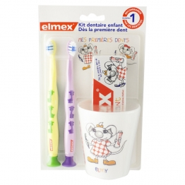 KIT DENTAIRE ENFANTS MES PREMIERES DENTS ELMEX