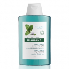 KLORANE ANTI POLLUTION SHAMPOOING DETOX A LA MENTHE AQUATIQUE 200ML