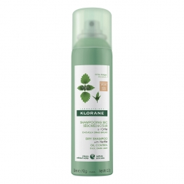 KLORANE SHAMPOOING SEC A L'ORTIE CHEVEUX CHATAINS A BRUNS 150ML