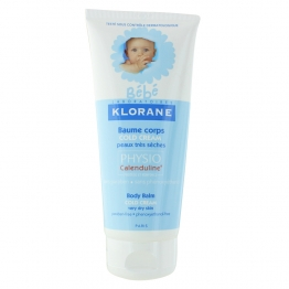 KLORANE BEBE BAUME CORPS COLD CREAM PEAUX TRES SECHES 200ML