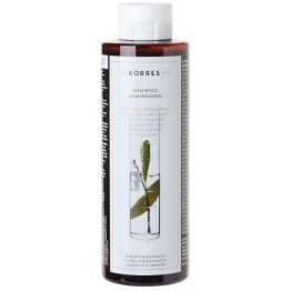 KORRES SHAMPOOING ANTI-PELLICULAIRE ET CUIR CHEVELU SEC LAURIER ET ECHINACEE 250ML