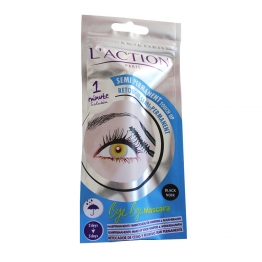 L'ACTION COSMETIQUE BYE BYE MASCARA RETOUCHE CILS ET SOURCILS SEMI-PERMANENT NOIR 6+3ML