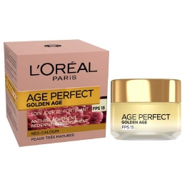 L'OREAL AGE PERFECT GOLDEN AGE SOIN JOUR REFORTIFIANT SPF15 PEAUS TRES MATURES 50ML