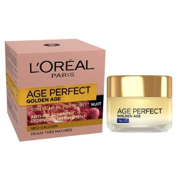 L'OREAL AGE PERFECT GOLDEN AGE SOIN RICHE REFORTIFIANT NUIT PEAUX TRES MATURES 50ML