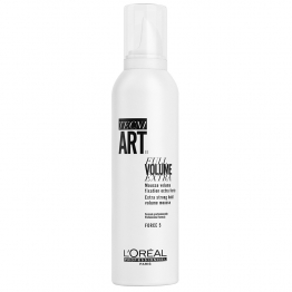 L'OREAL PROFESSIONNEL TECNI ART FULL VOLUME ETRA MOUSSE VOLUME FIXATION EXTRA FORTE FORCE 5 250ML