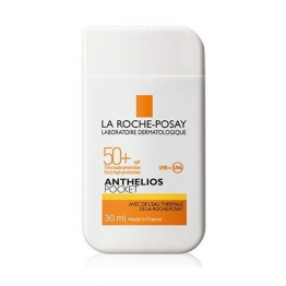 LA ROCHE-POSAY ANTHELIOS POCKET FLUIDE SOLAIRE TRES HAUTE PROTECTION SPF50+ 30ML