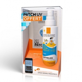 LA ROCHE-POSAY COFFRET SPRAY ANTHELIOS DERMO-KIDS SPF50+ ENFANTS 200ML + PATCH UV