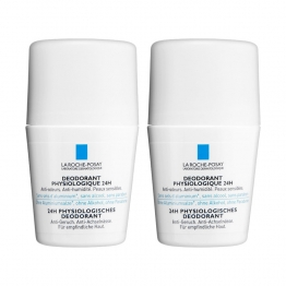LA ROCHE-POSAY DEODORANT PHYSIOLOGIQUE 24H ROLL-ON 2X50ML