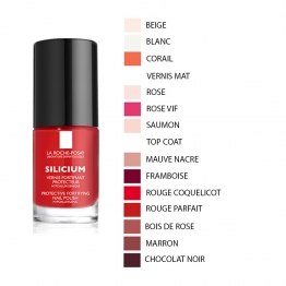 LA ROCHE-POSAY VERNIS A ONGLES FORTIFIANT PROTECTEUR SILICIUM PASTEL CARE 6ML