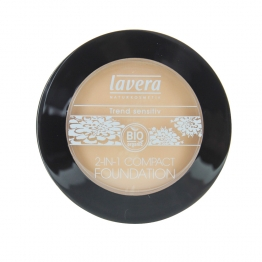 LAVERA MINERAL COMPACT POWDER IVORY 01 7G