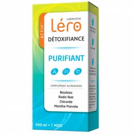 LERO SOLUTION BUVABLE DETOXIFIANT 300ML