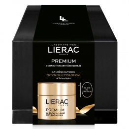 LIERAC COFFRET COLLECTOR PREMIUM CREME SOYEUSE OR 50ML