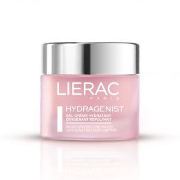LIERAC HYDRAGENIST GEL CREME HYDRATANT OXYGENANT REPULPANT PEAUX NORMALES A MIXTES 50ML