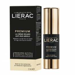 LIERAC PREMIUM LA CREME REGARD ANTI AGE ABSOLU 15ML