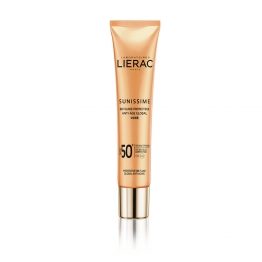 LIERAC SUNISSIME BB FLUIDE PROTECTEUR DORE ANTI-AGE GLOBAL SPF50+ 40ML
