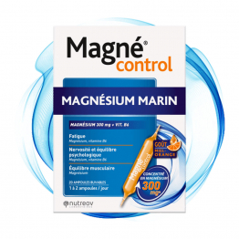 MAGNESIUM MARIN 20 AMPOULES MAGNE CONTROL NUTREOV