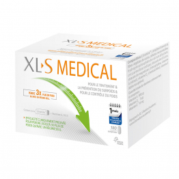 XL-S MEDICAL CAPTEUR DE GRAISSES 180 COMPRIMES