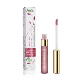 MELVITA GLOSS LEVRES DE ROSE BIO 4ML