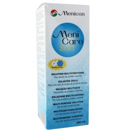 MENICARE SOFT SOLUTION MULTIFONCTIONS 360ML