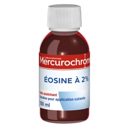 SOLUTION D'EOSINE A 2% 100ML MERCUROCHROME